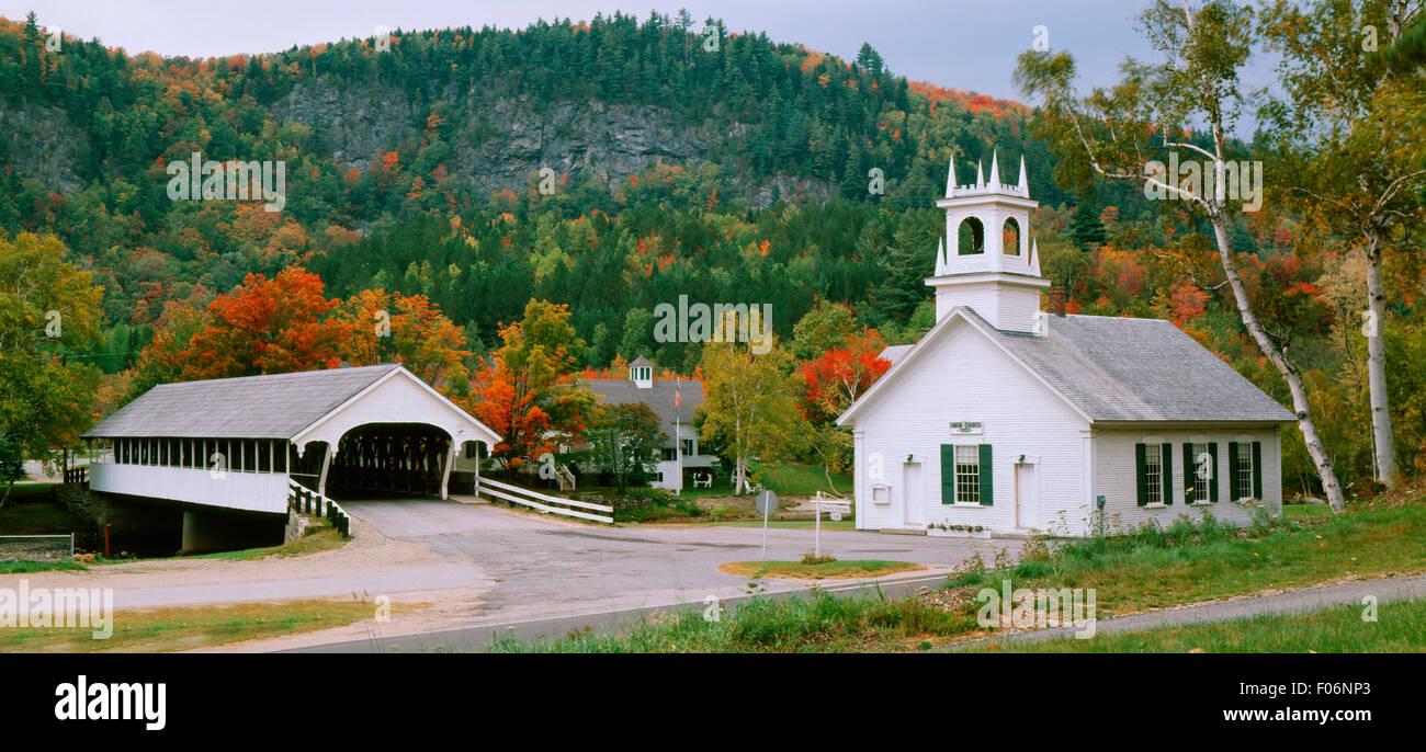 Stark, NH USA - Stock Image