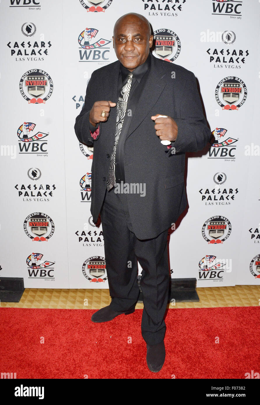 Aug. 9, 2015 - Las Vegas, Nevada, United States of America - Former World Boxing Champion  Mike ''The Body - Stock Image