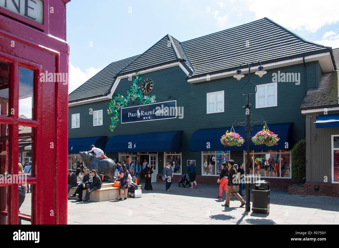 Polo Ralph Lauren designer store at Bicester Village Outlet Shopping Centre 4435596142df2