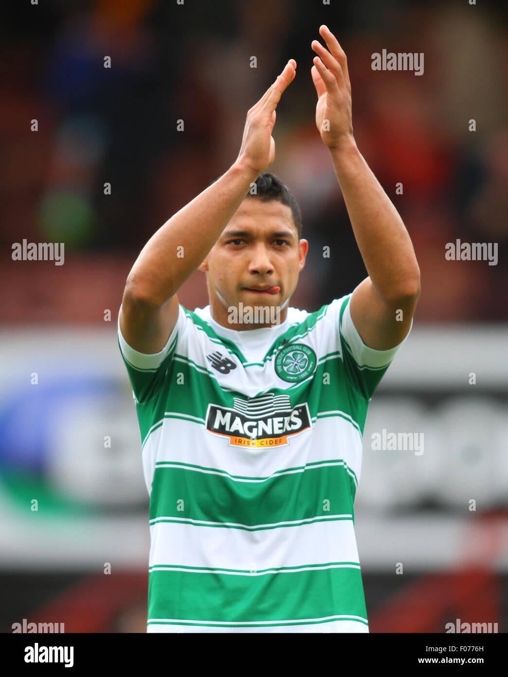 Glasgow, Scotland. 09th Aug, 2015. Ladbrokes Scottish Premiership. Partick Thistle versus Celtic. Emilio Izaguirre - Stock Image
