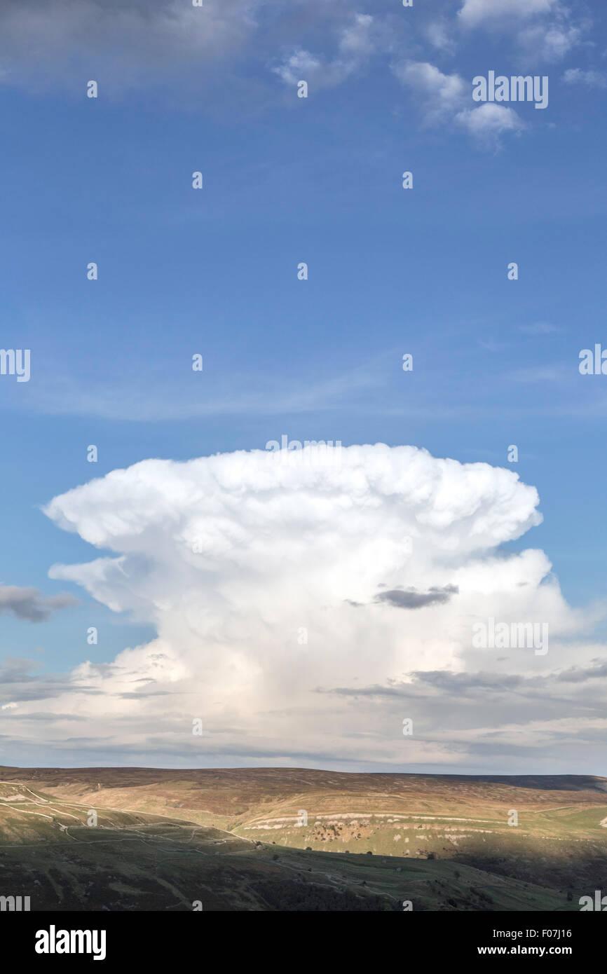 Cumulonimbus clouds, England, UK - Stock Image