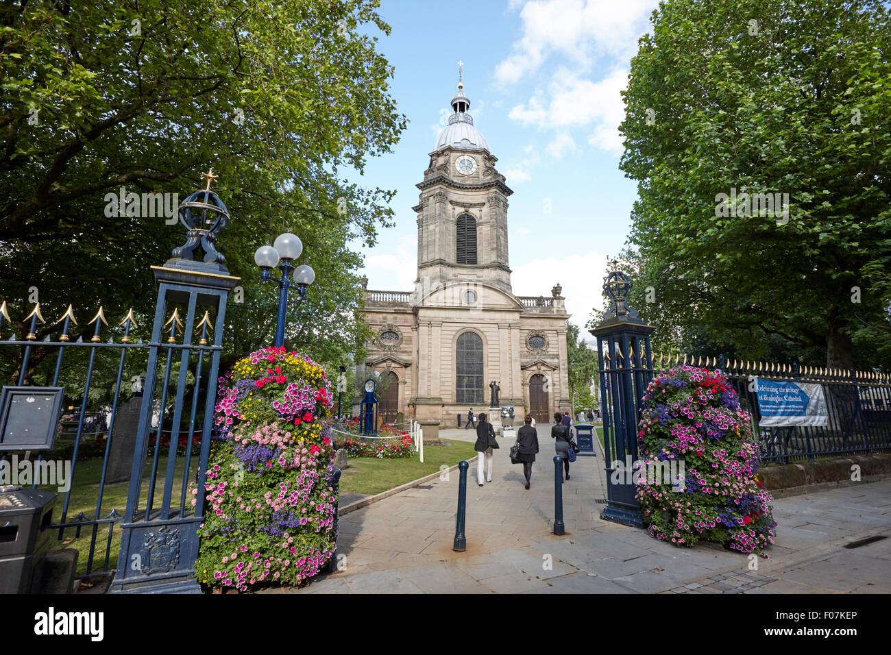 st philips Birmingham cathedral UK - Stock Image