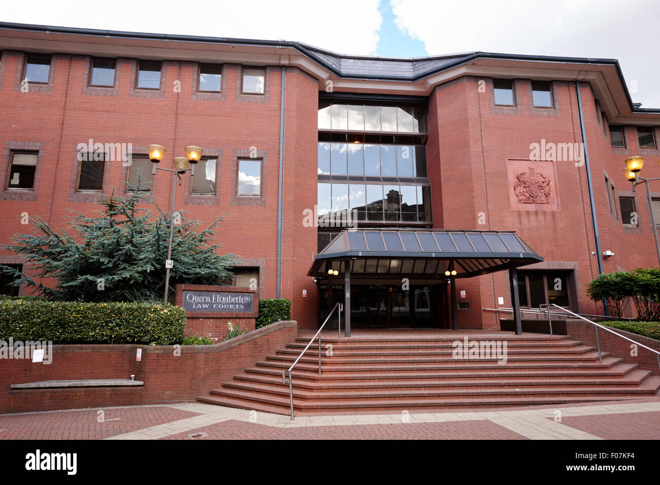 Queen Elizabeth 2 Law Courts Site Of Birmingham Crown Court Uk Stock Photo Alamy