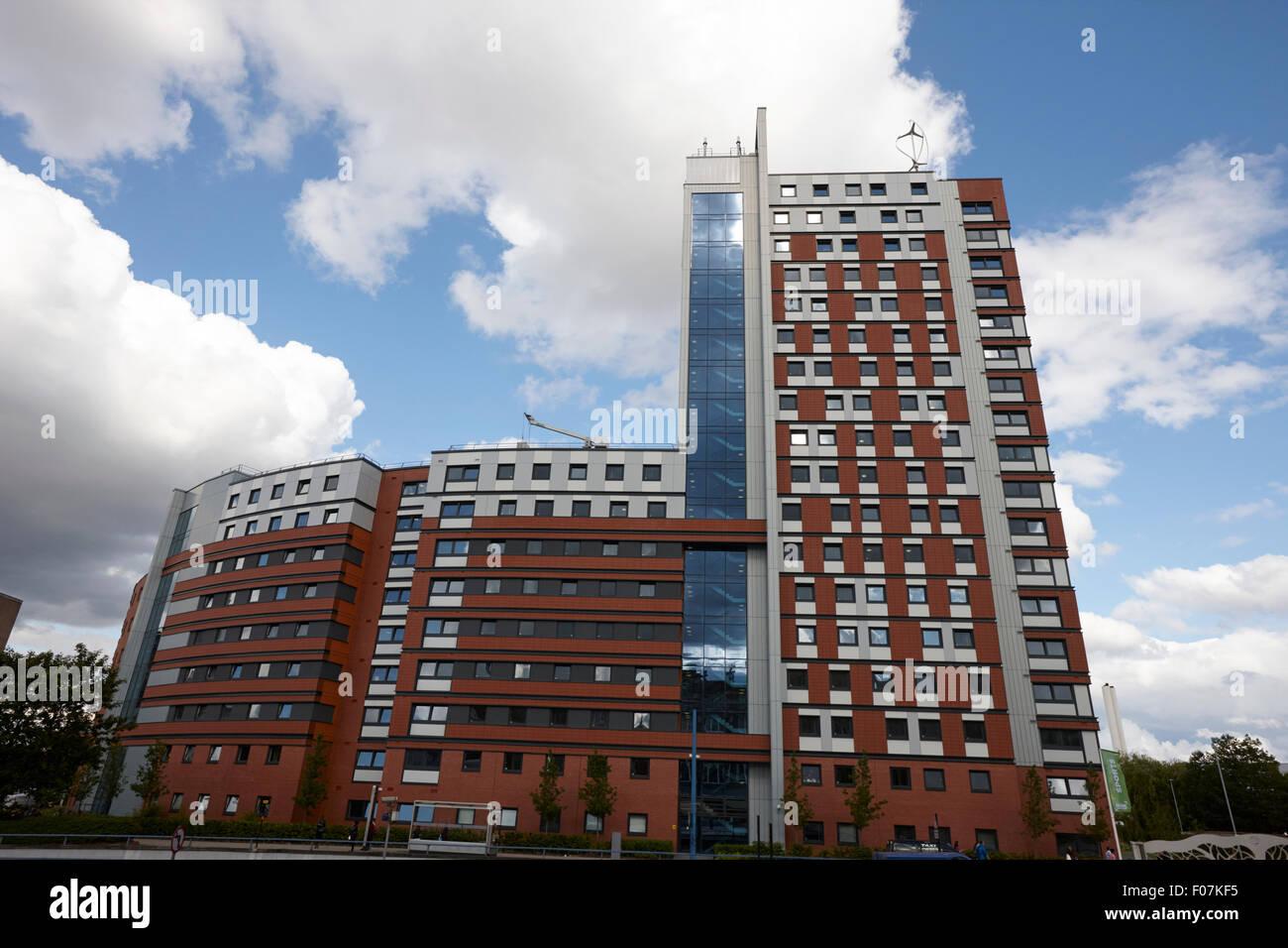 lakeside aston university student accommodation Birmingham, UK - Stock Image