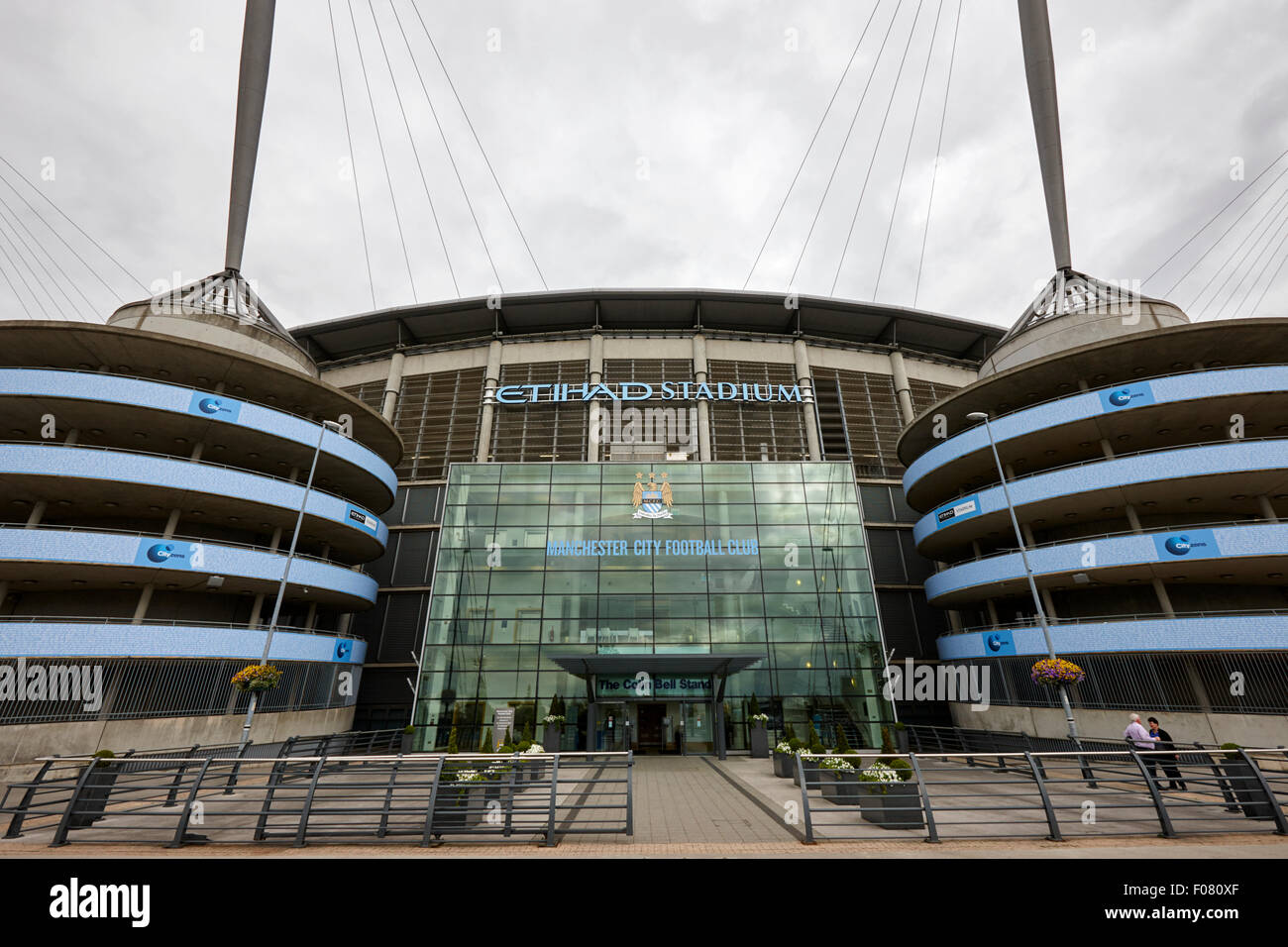 Manchester City etihad stadium eastlands city of manchester stadiium uk - Stock Image