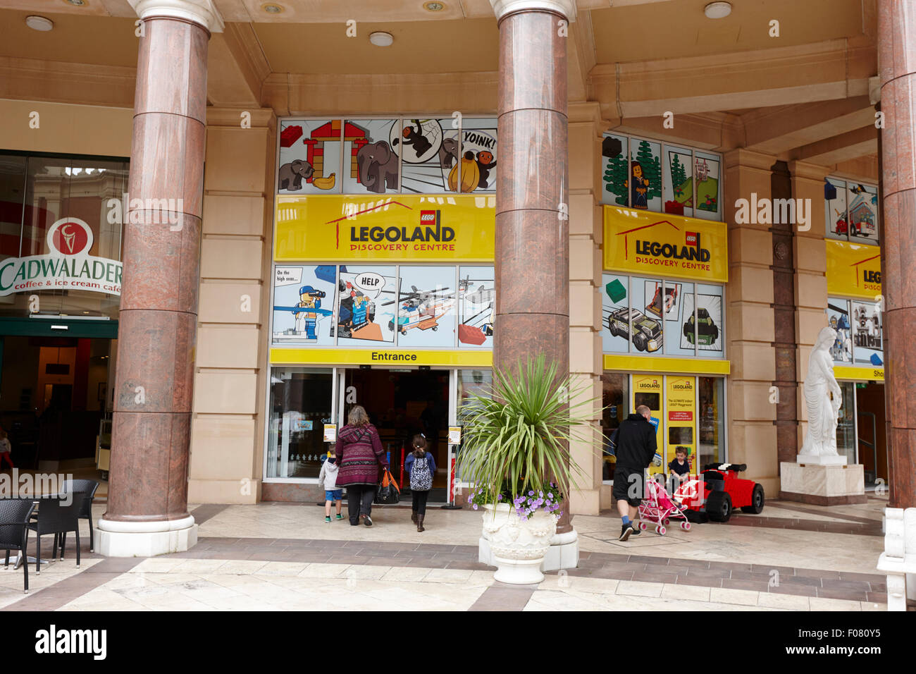 legoland discovery centre at barton square section of the trafford centre Manchester uk Stock Photo