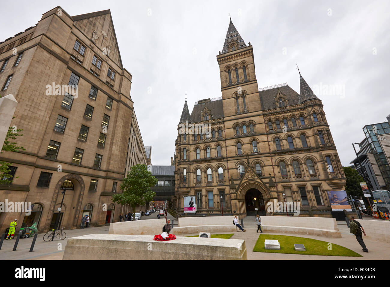 Manchester town hall England UK - Stock Image