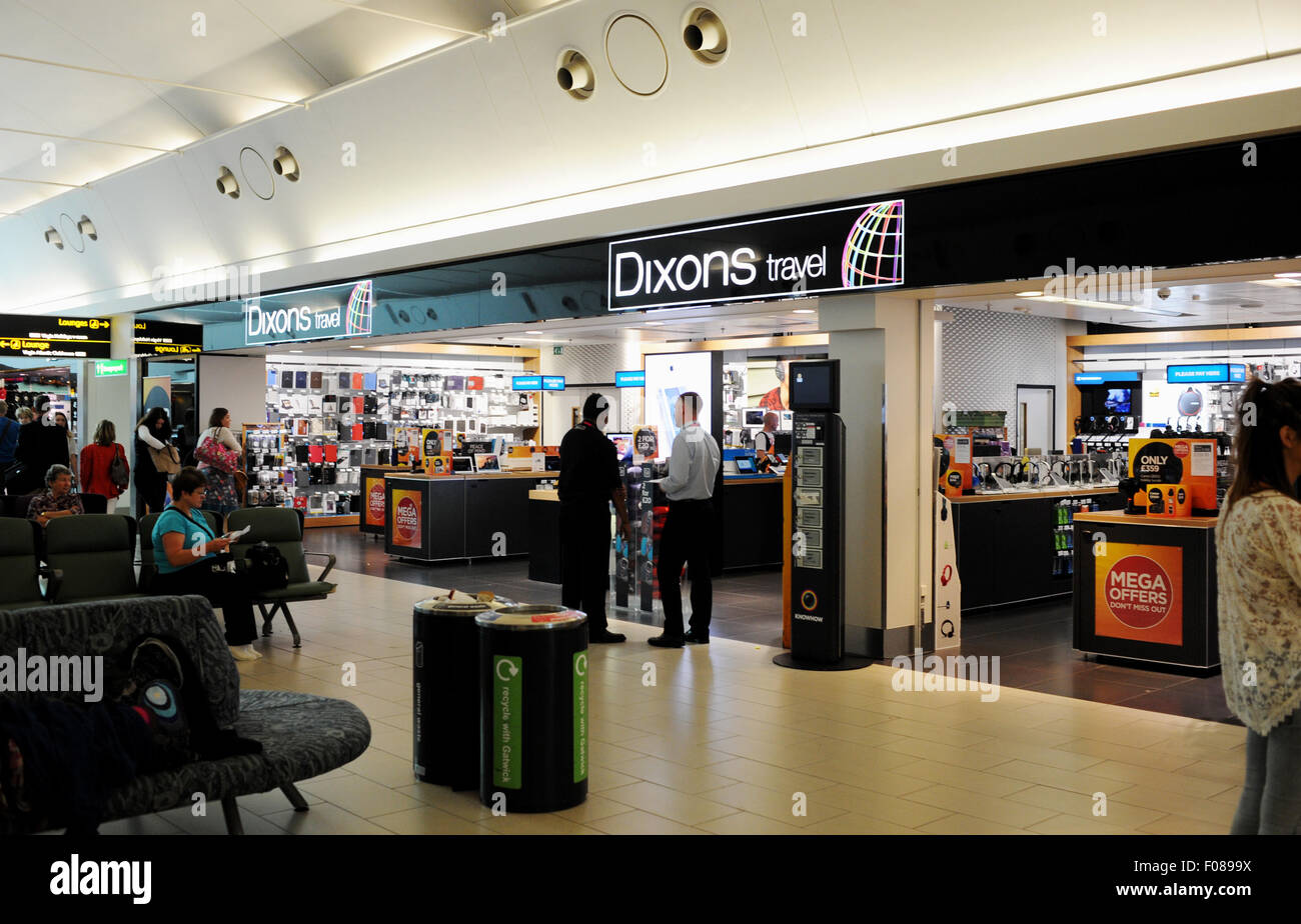 The Dixons Travel shop in Gatwick Airport South Terminal