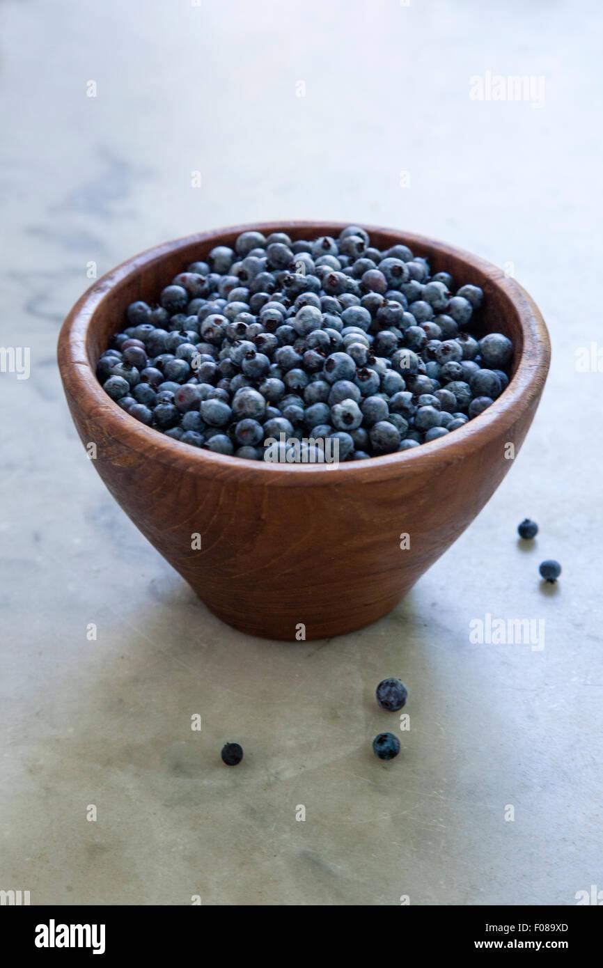 fresh picked berries - Stock Image