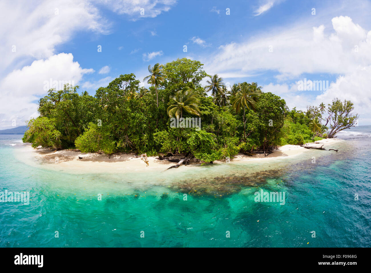 Wickham Island, Marovo Lagoon, Solomon Islands - Stock Image