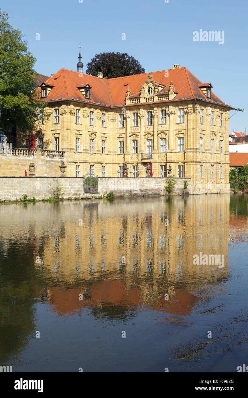 International Artists House Villa Concordia, Bamberg, Bavaria, Germany - Stock Image