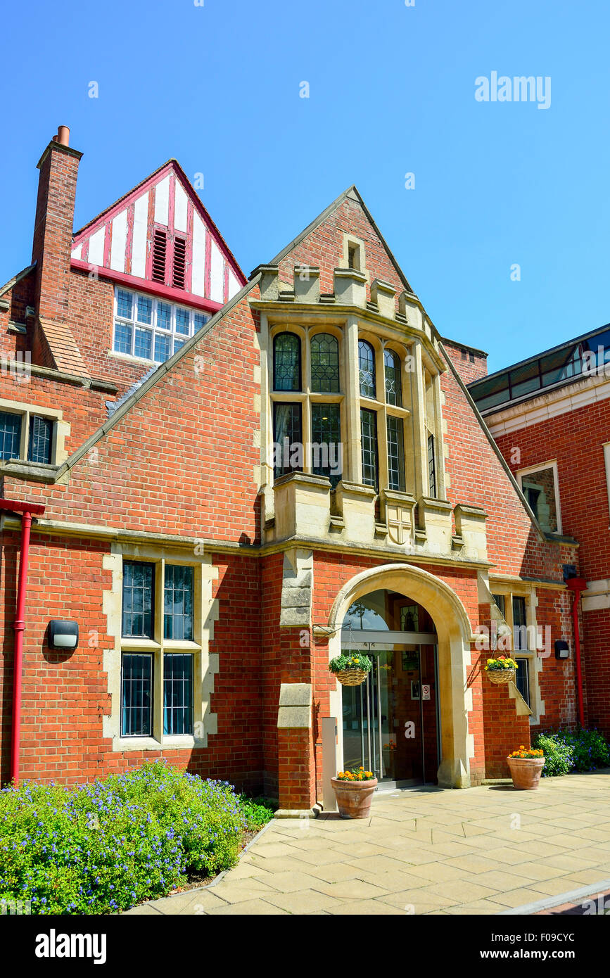 The Abbey School (Independent day school for girls), Kendrick Road, Reading, Berkshire, England, United Kingdom Stock Photo