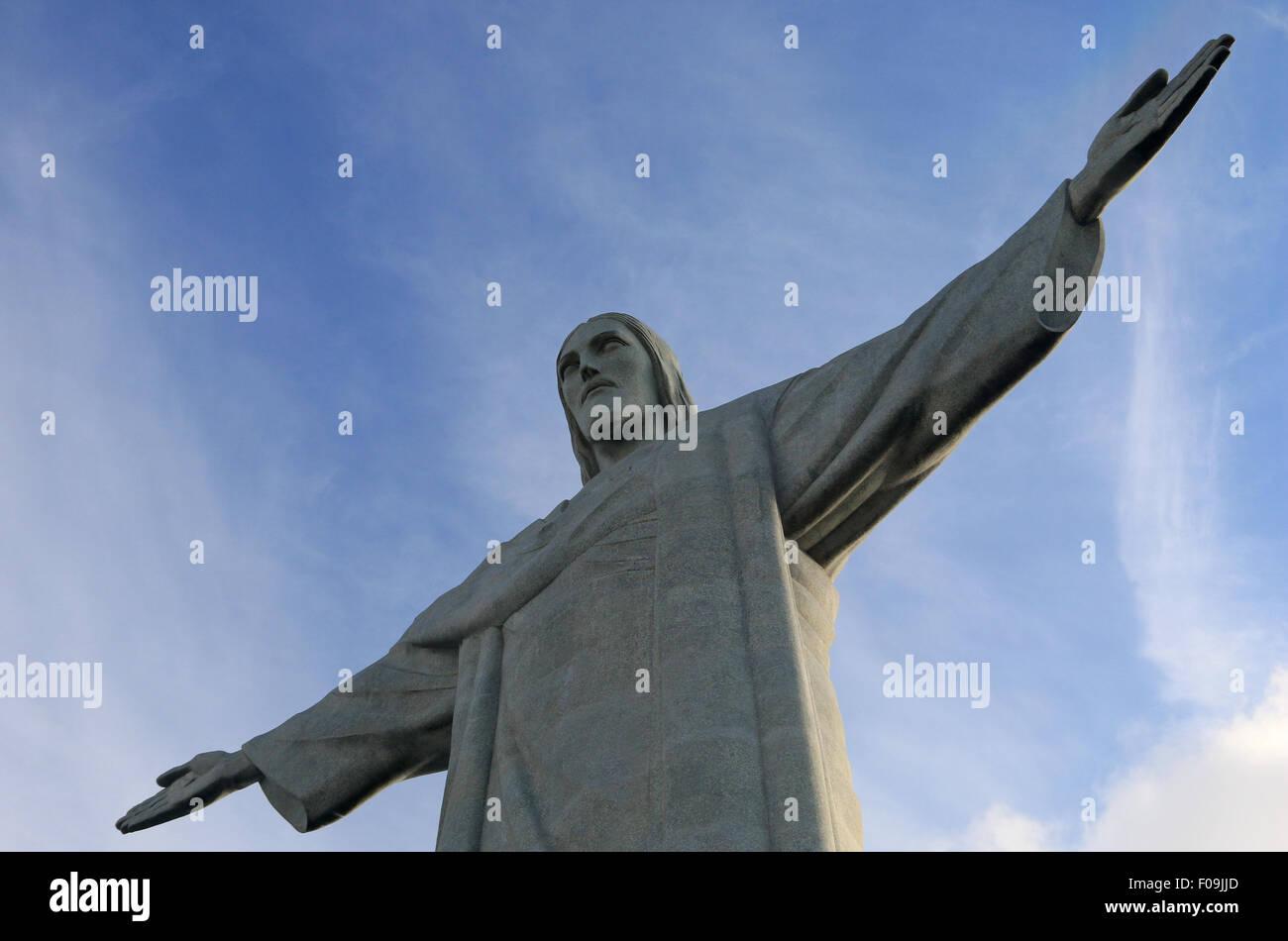 Christ the Redeemer, Rio de Janeiro. Stock Photo