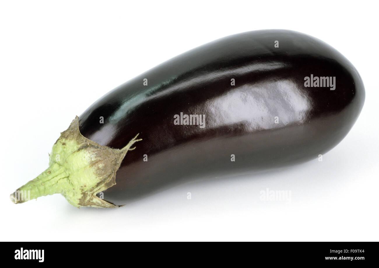 Aubergine, Auberginen, Solanum melongena, Eierfrucht, Gemuese, Stock Photo