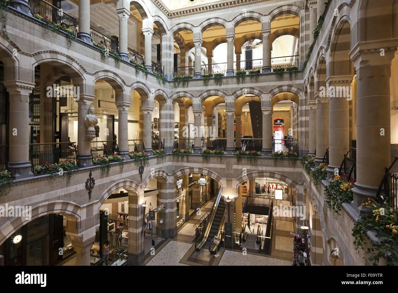Interior of Magna Plaza department store, Amsterdam
