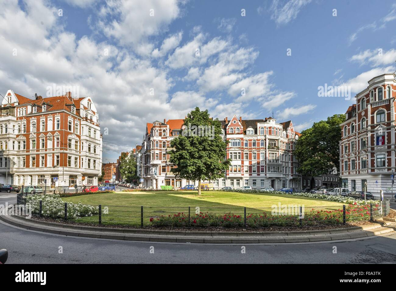 the facade of building in lichtenberg berlin germany stock photo 86274403 alamy. Black Bedroom Furniture Sets. Home Design Ideas