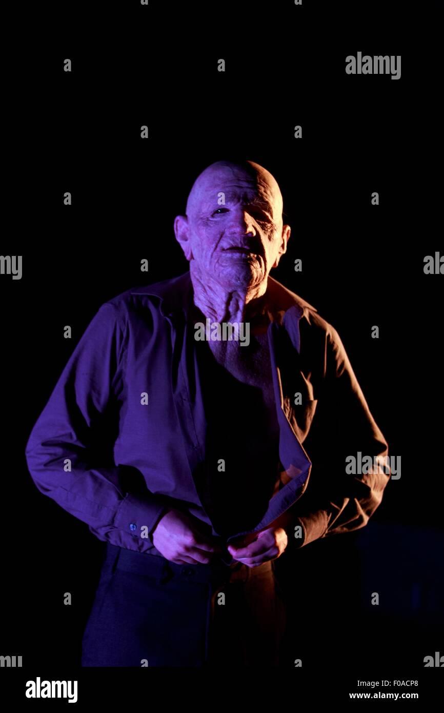 Edinburgh. UK. 11th August. Traverse Company theatre: Tomorrow -Vanishing Point/Brighton Festival/Tramway. Cena - Stock Image