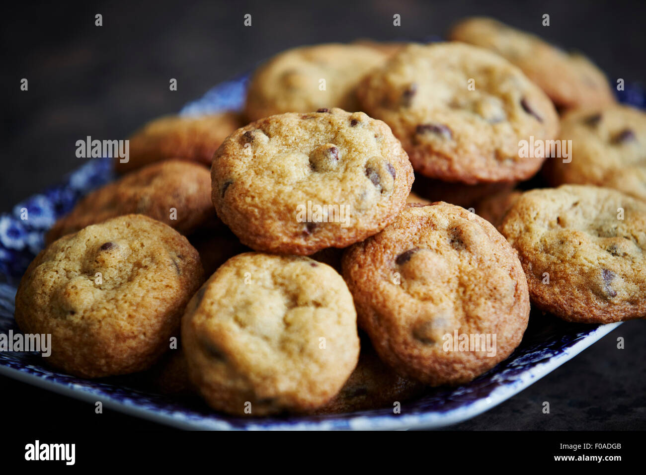 Homemade cookies, close up - Stock Image
