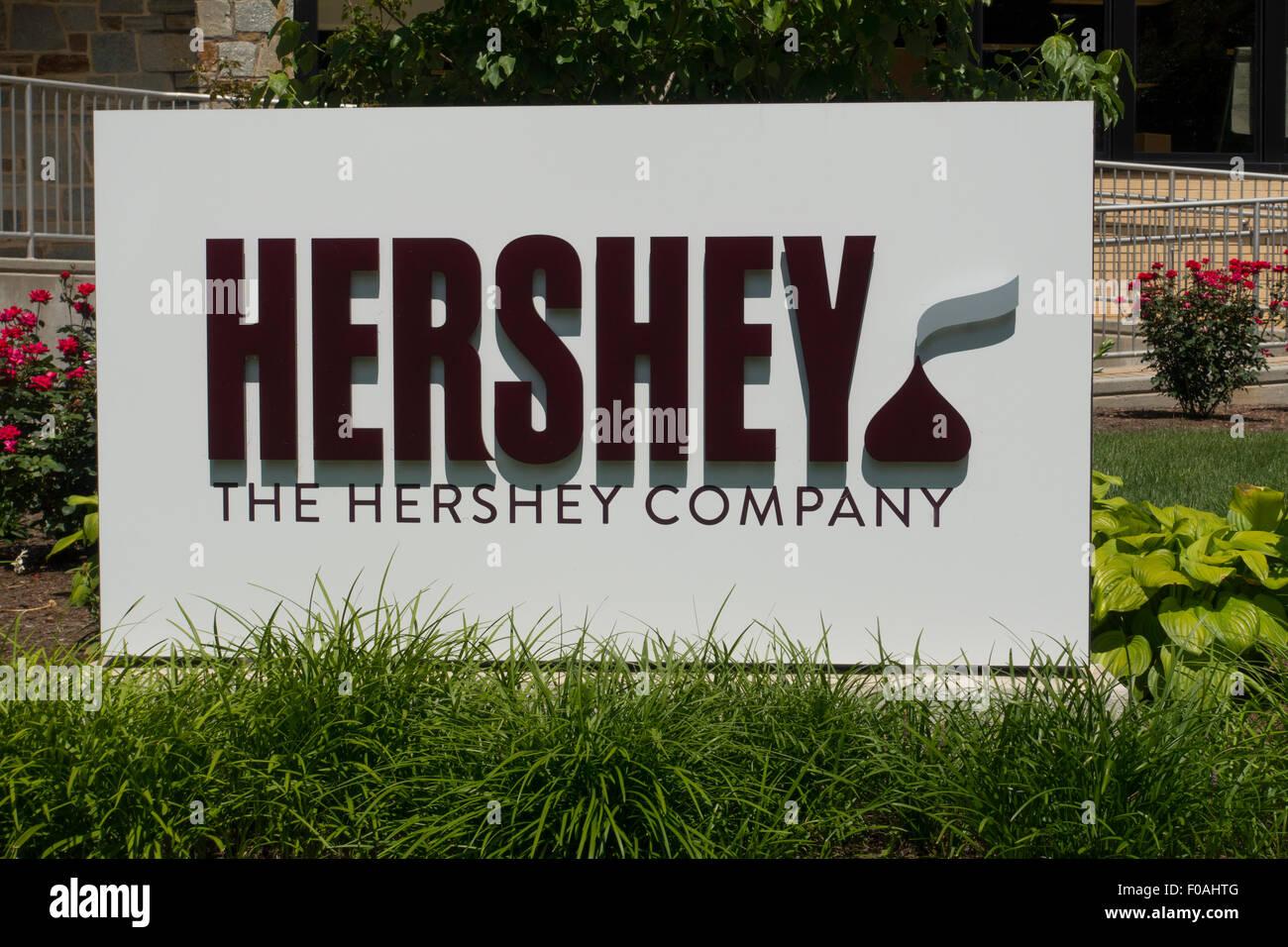 Hershey corporate headquarters in Hershey PA - Stock Image
