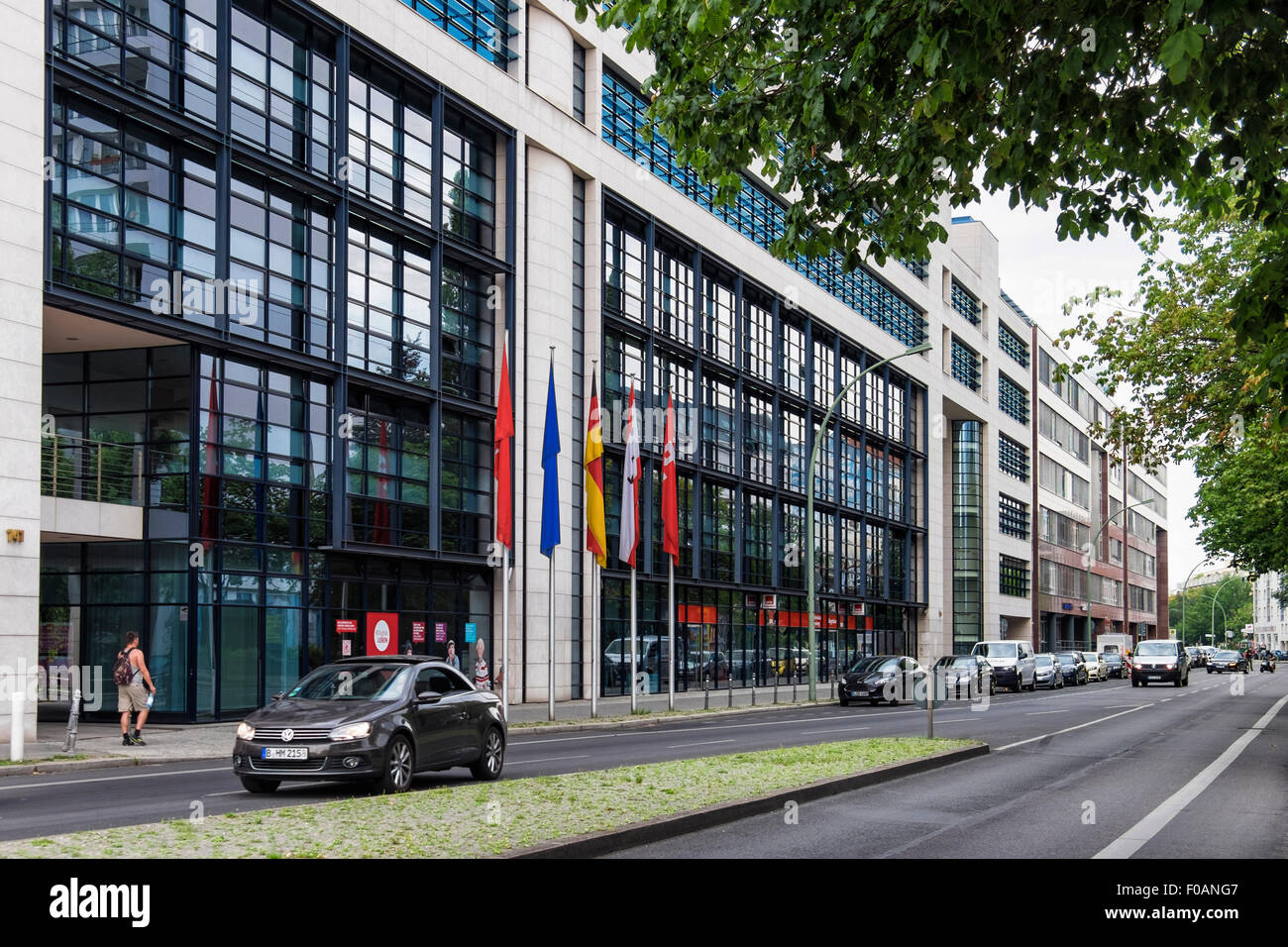 Berlin Willy Brandt Haus Exterior Willy Brandt House Spd Offices