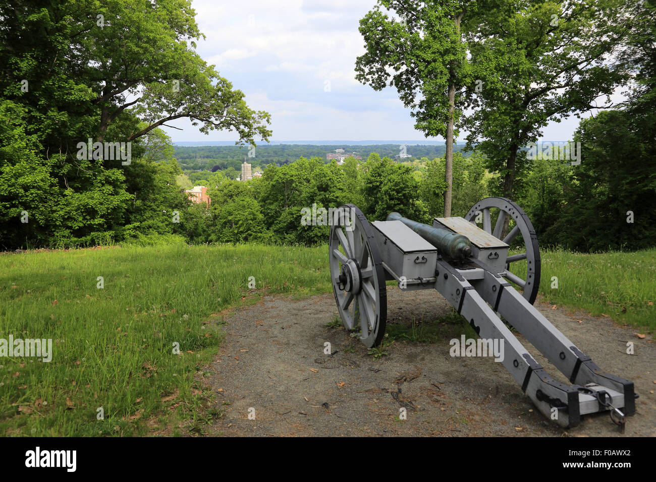 Fort Nonsense Historical Park Morristown New Jersey USA - Stock Image