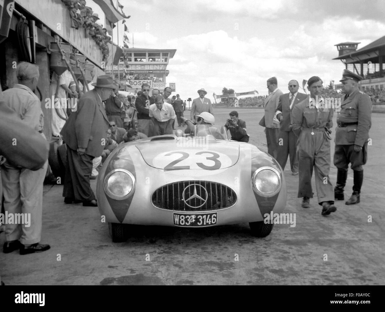 German GP Nurburgring 1952 SPORTS MERCEDES 300SL SPYDER