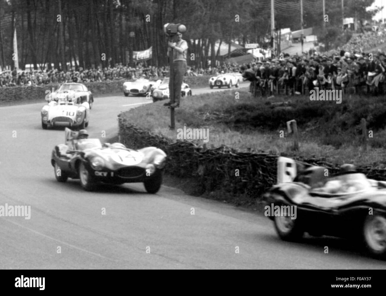 Le Mans 1954 - Stock Image