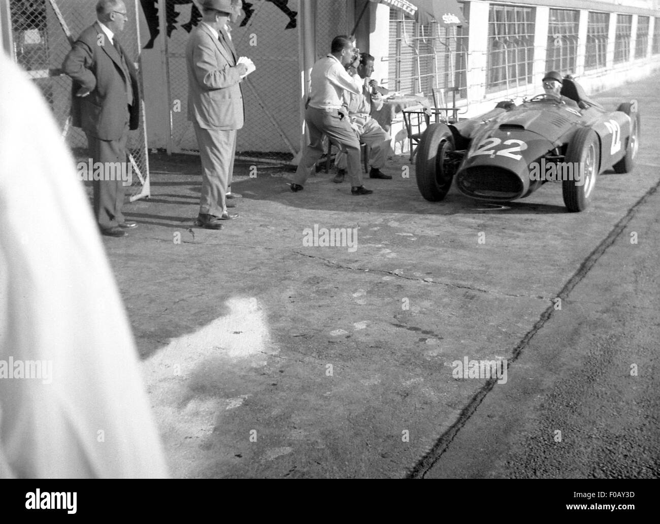 Italian GP in Monza 1956 - Stock Image