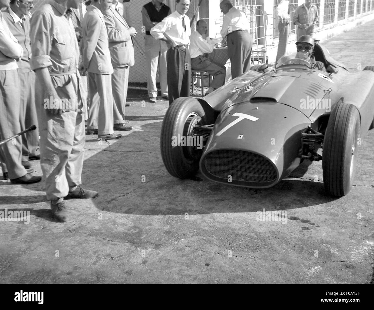 Italian GP in Monza 1956 Stock Photo