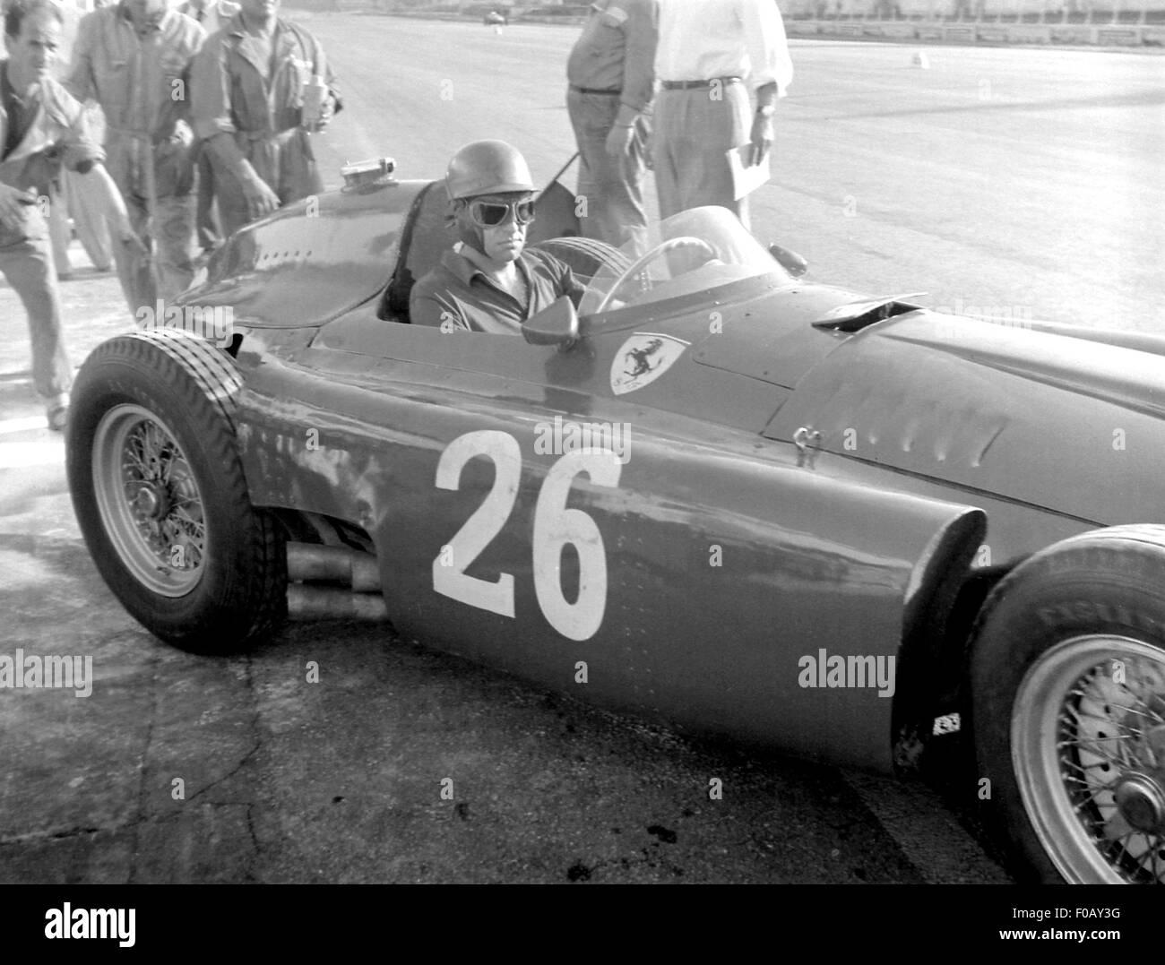 Italian GP in Monza 1956 Stock Photo