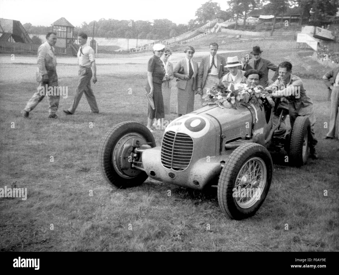 Maserati 6CM racing car 1930s - Stock Image