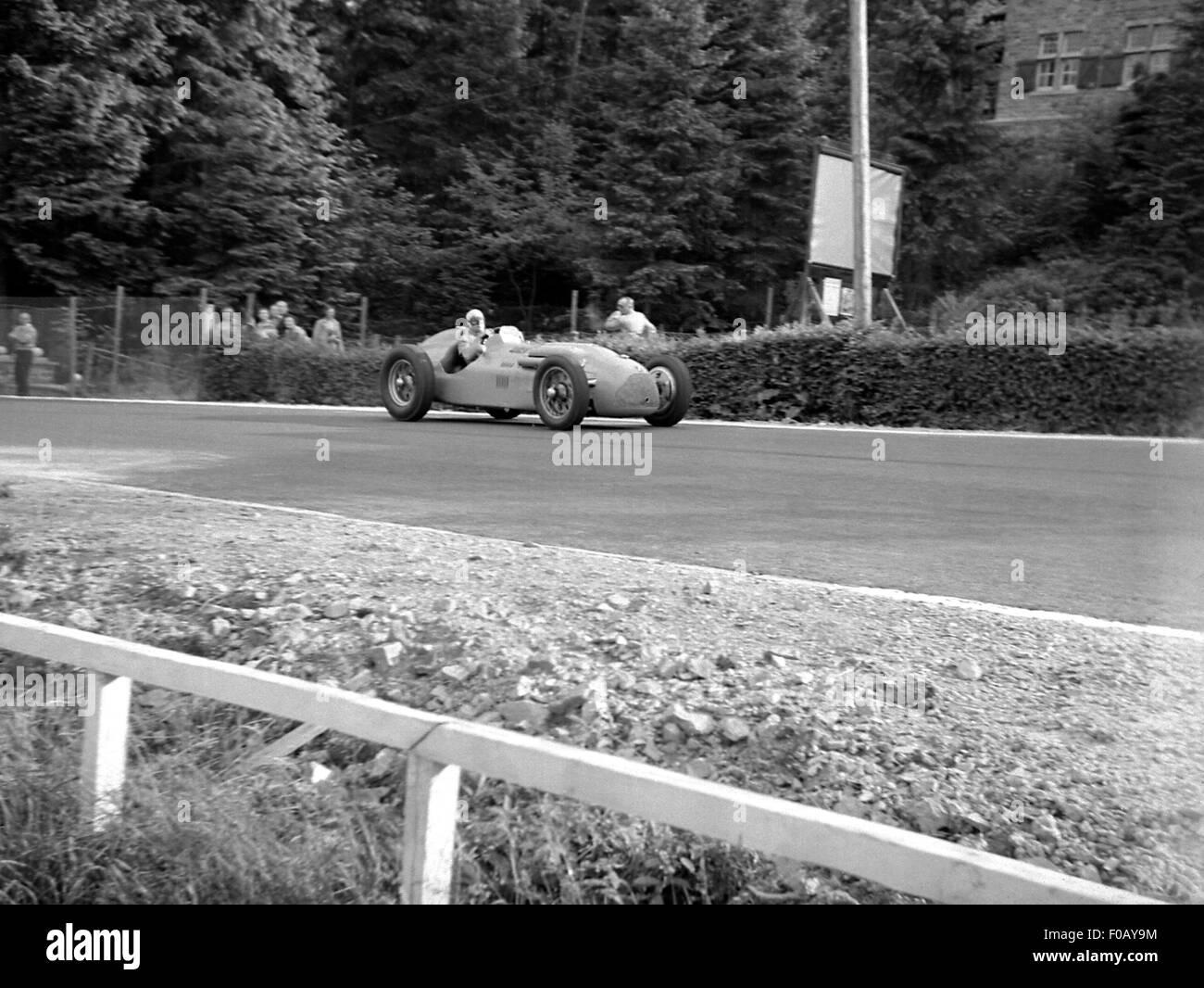 Belgian GP at Spa 1940s - Stock Image