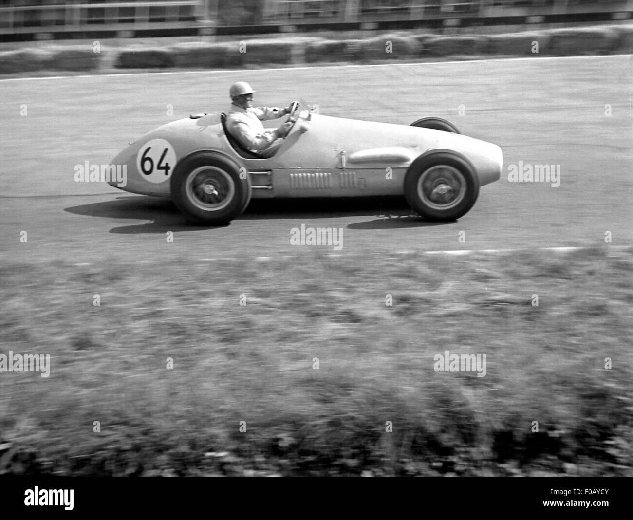 Ferrari racing car 1954 - Stock Image
