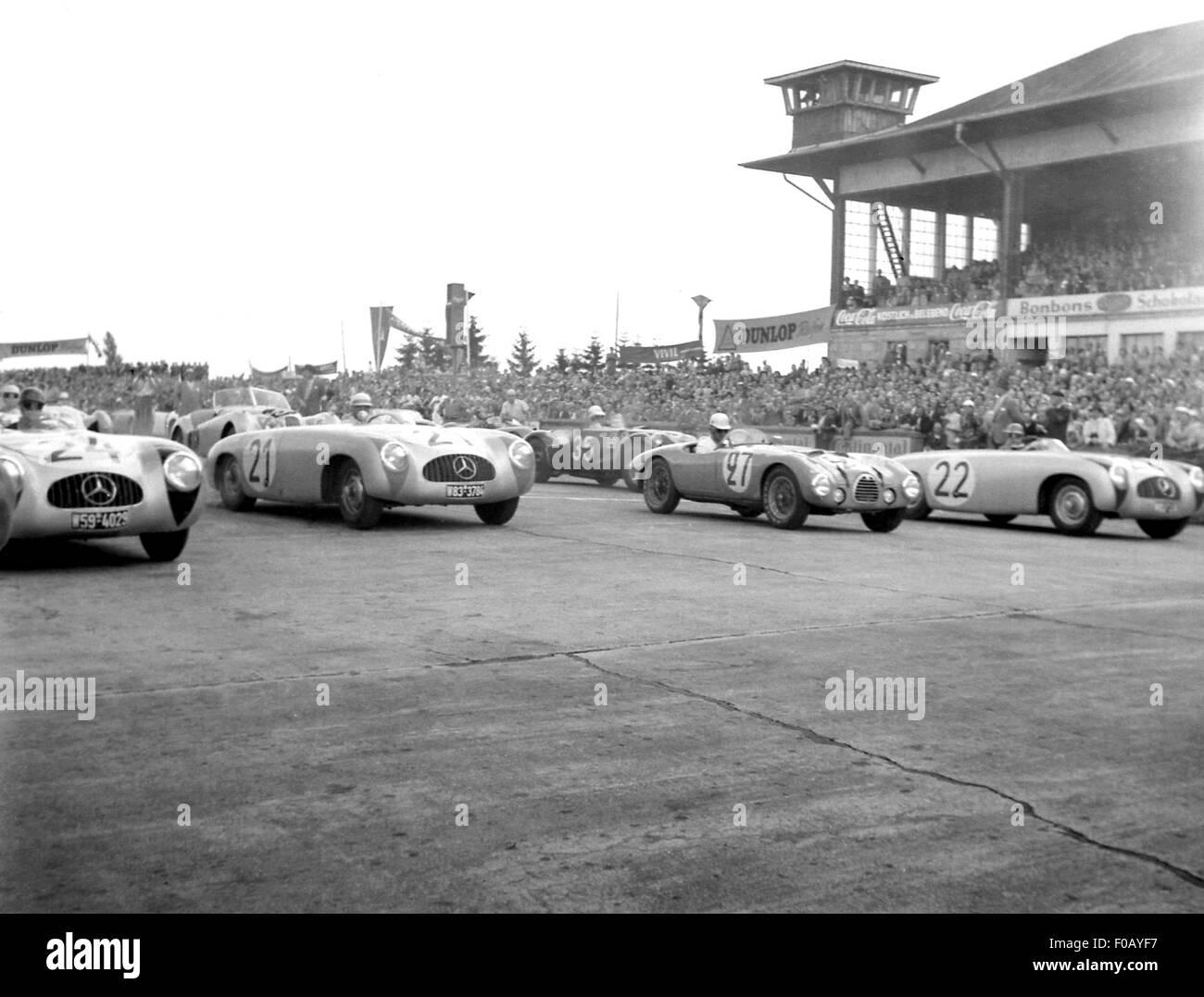 German GP in Berlin 1952 Stock Photo