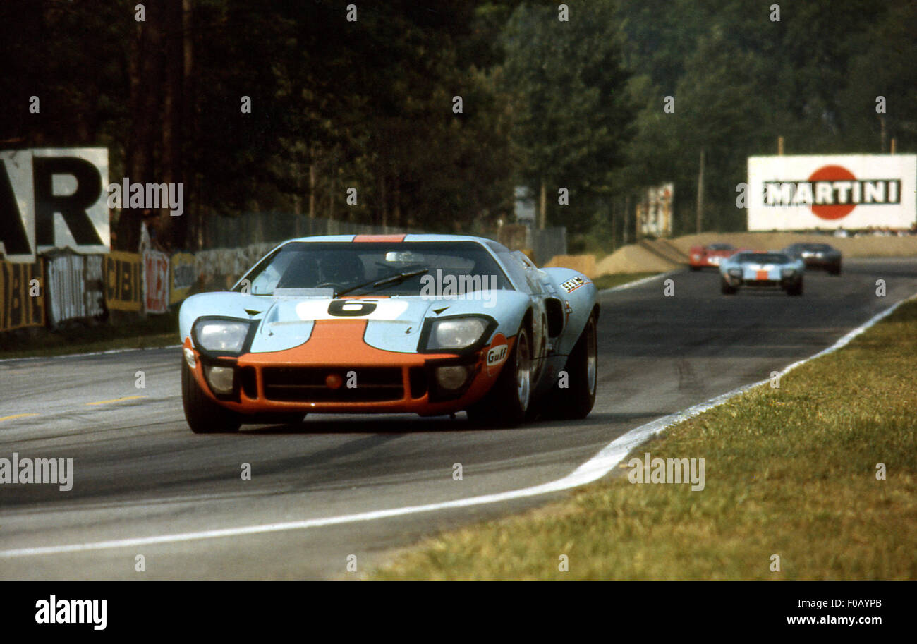 Le Mans 24 Hours 15th June 1969 Jacky Ickx Jackie Oliver