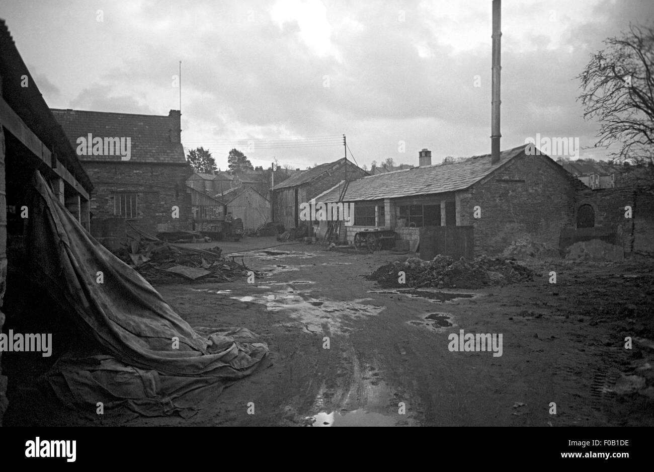 A scrap metal yard - Stock Image