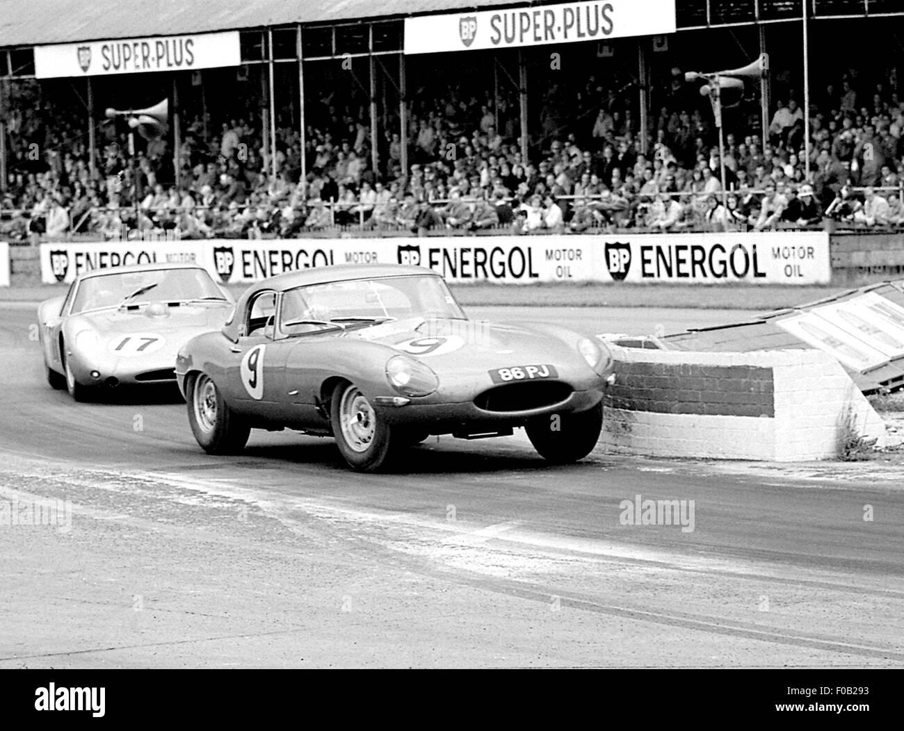 Goodwood Tourist Trophy 1963 - Stock Image