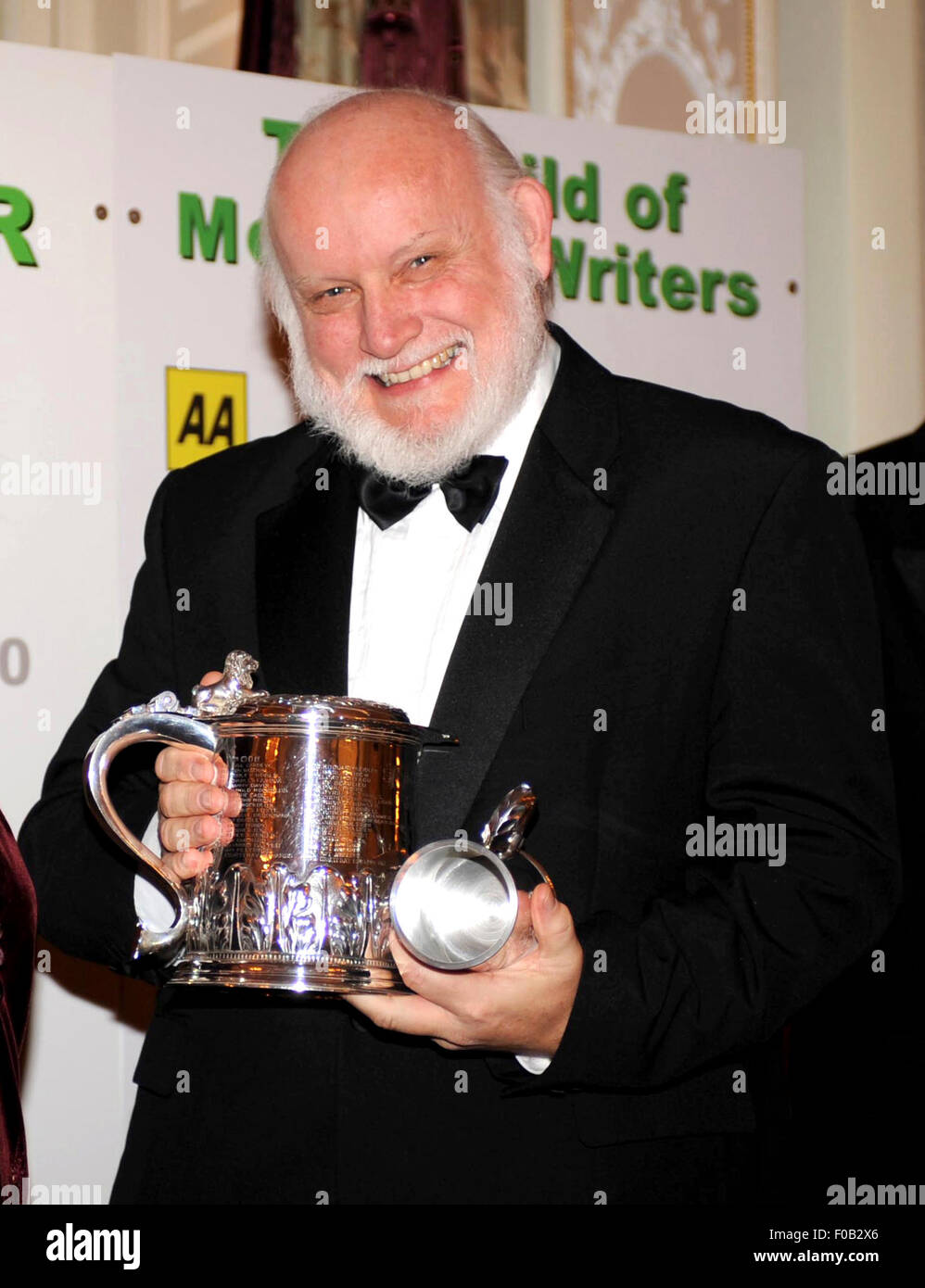 Doug Nye at the annual awards ceremony of the Motoring Writers Guild 2010 - Stock Image