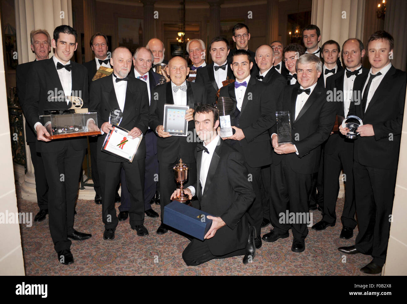 The annual awards ceremony of the Motoring Writers Guild 2010 - Stock Image