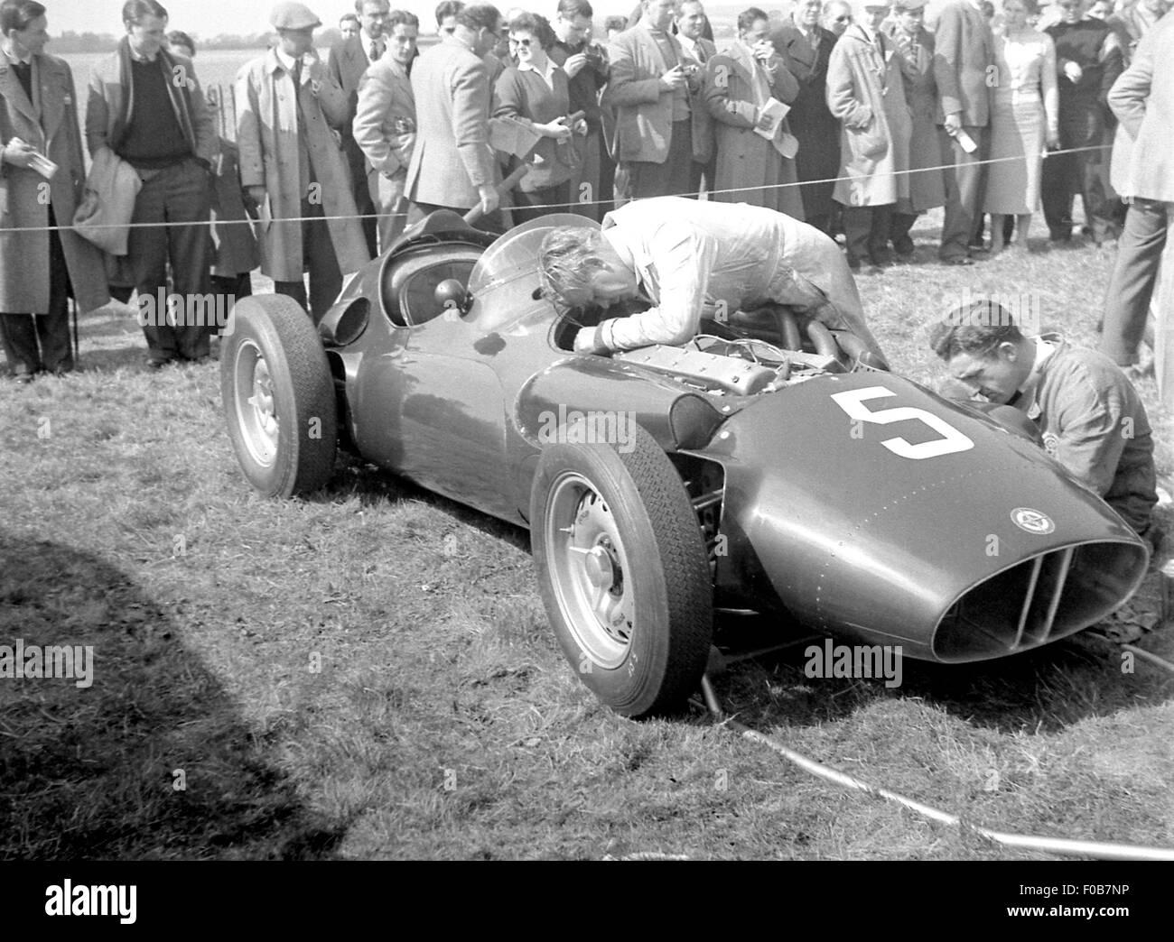 Tony Brook's BRM - Stock Image