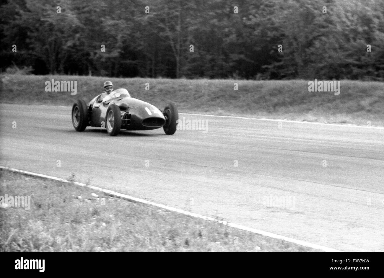 Italian GP at Monza 1956 - Stock Image