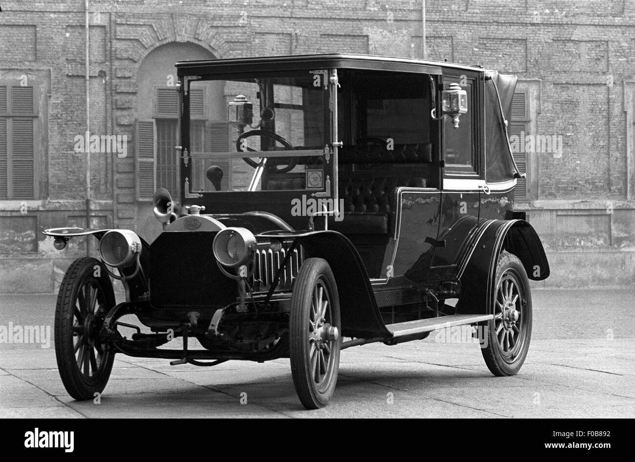 Early 20th century Fiat motor car - Stock Image