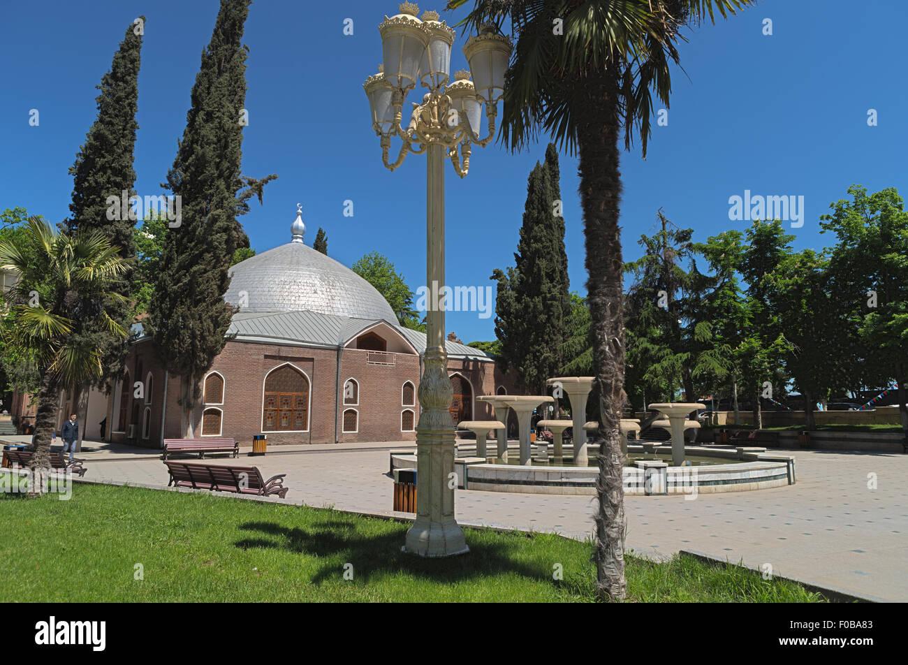 Juma (Friday) Mosque Ganja Azerbaijan - Stock Image