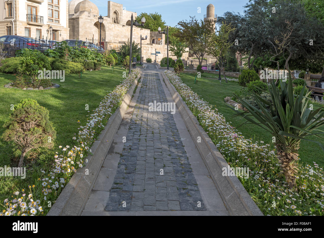 Old City Baku Azerbaijan - Stock Image