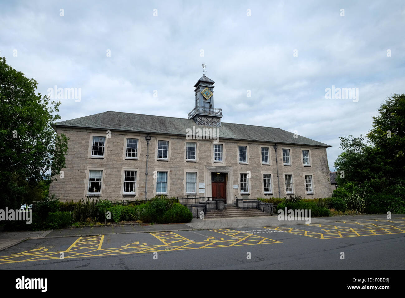 kendal county hall exterior, Busher Walk, Kendal - Stock Image