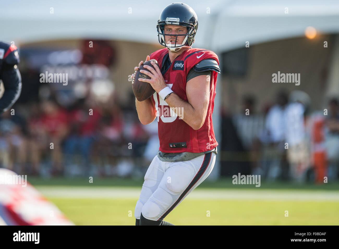 Houston, Texas, USA. 11th Aug, 2015. Houston Texans quarterback Ryan