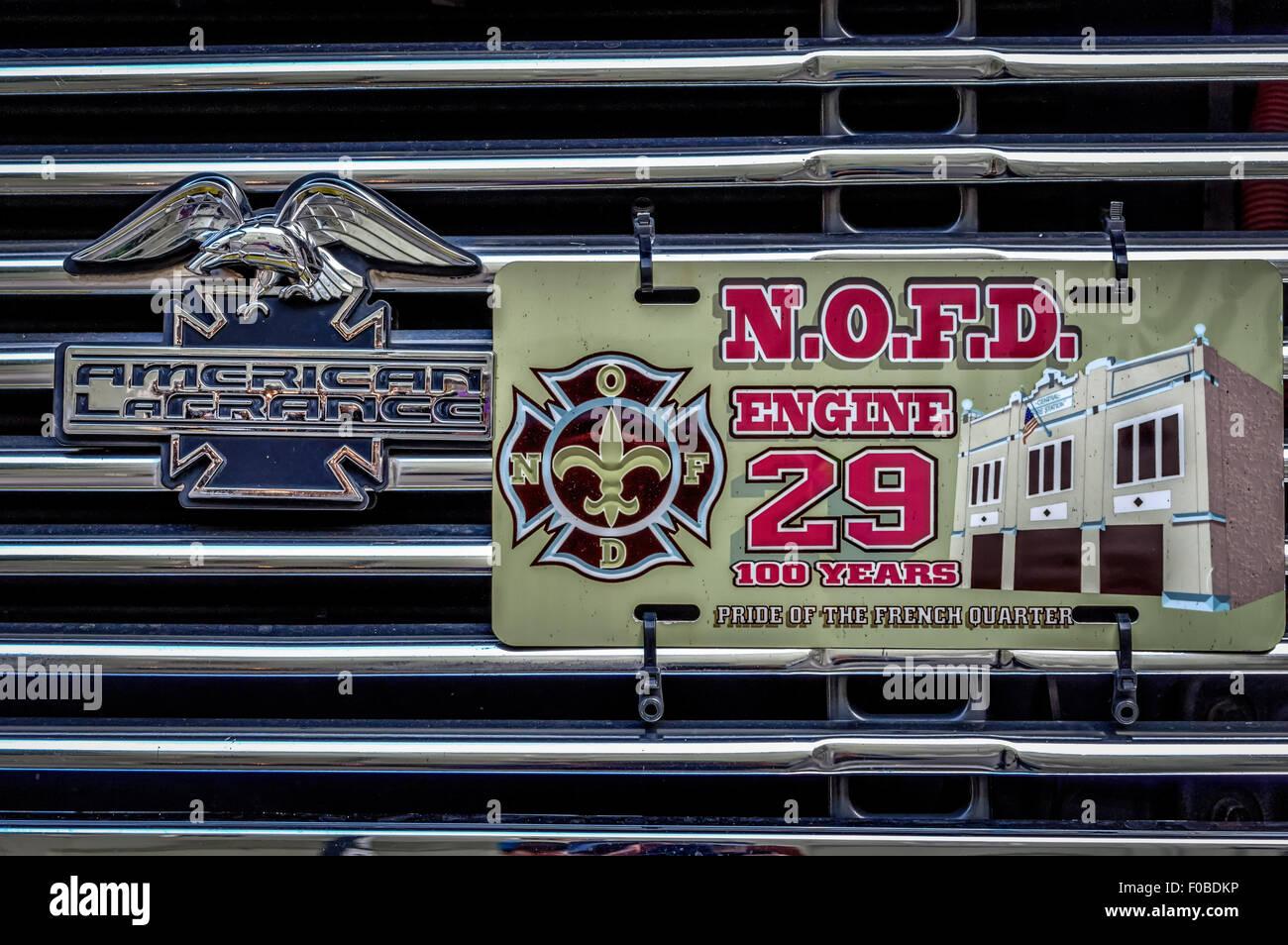 Vintage Fire Truck General Emblems or Gauge Emblems