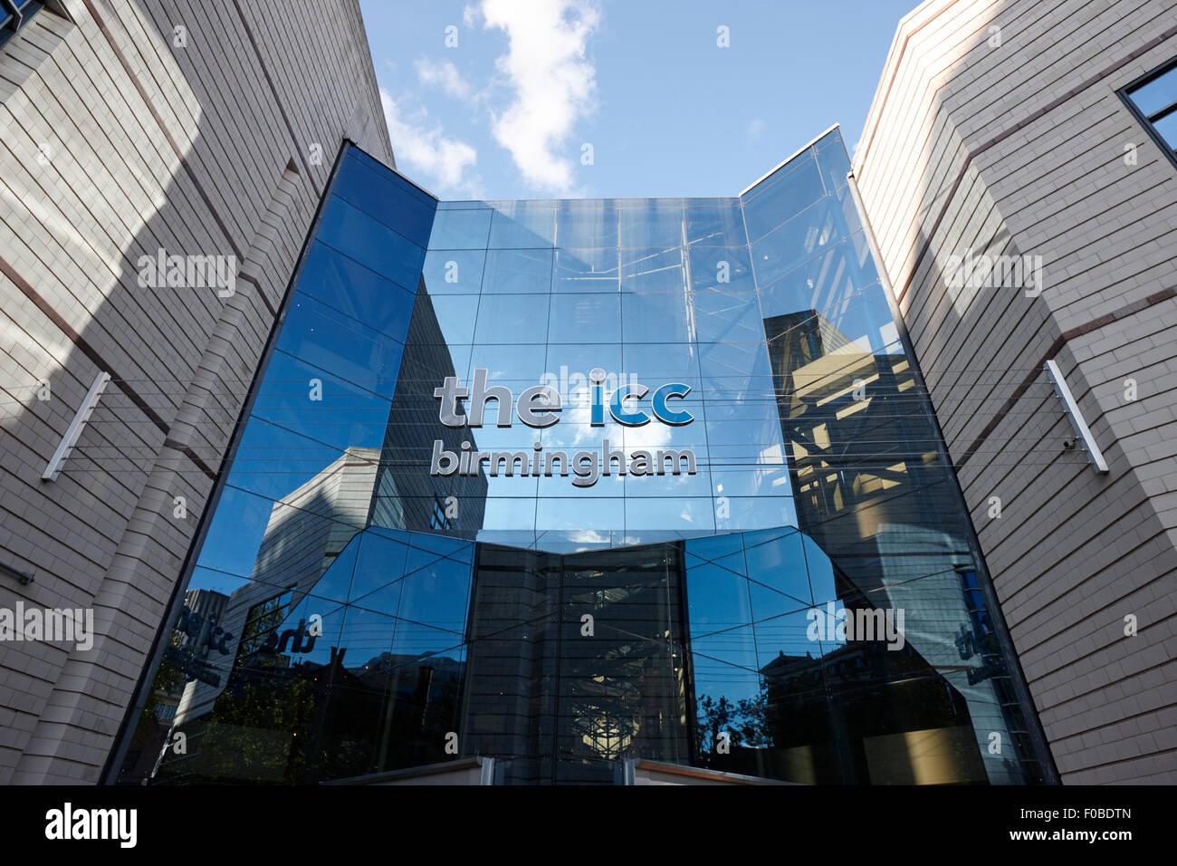The ICC and symphony hall Birmingham UK - Stock Image