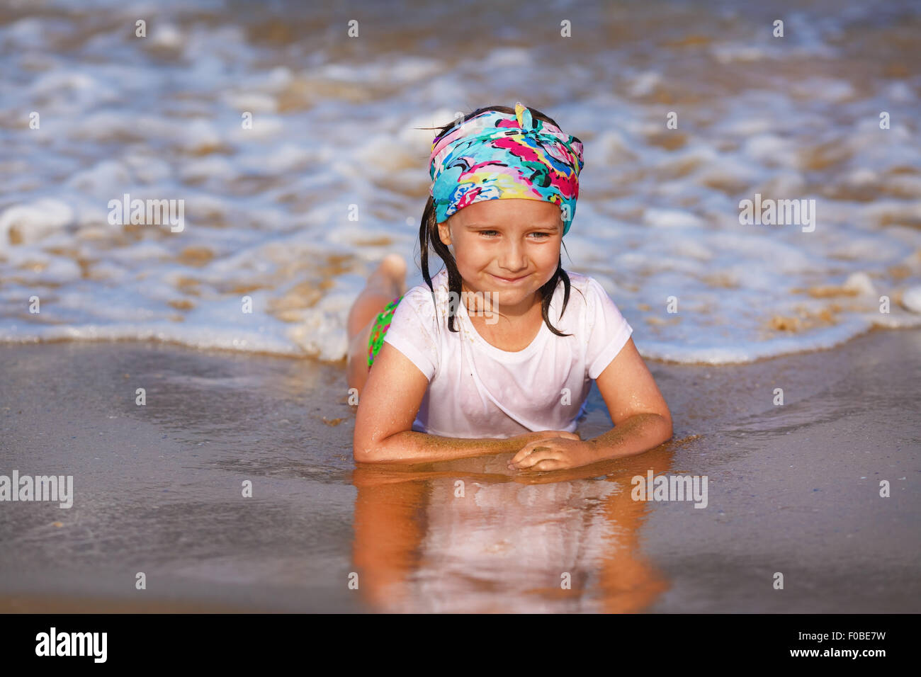 Beautiful Girl In Wet T Shirt Stock Photos Beautiful Girl In Wet T
