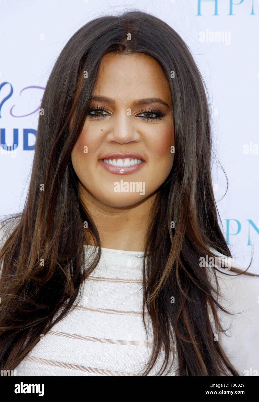 Khloe Kardashian at the HPNOTIQ Harmonie Cocktail Recipe Launch held at the Mr. C Beverly Hills, USA on August 2, - Stock Image
